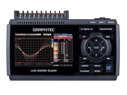 ATC Mesures - Acquisition de données - Enregistreur de données portable - GL240 - Graphtec