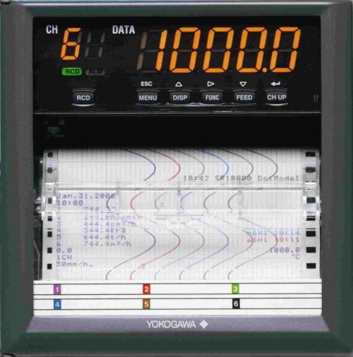 ATC Mesures - Acquisition de données - Enregistreur papier industriel - SR 10 000 - Yokogawa
