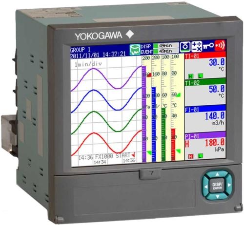 ATC Mesures - Acquisition de données - Enregistreur vidéo de tableau - FX1000 - Yokogawa