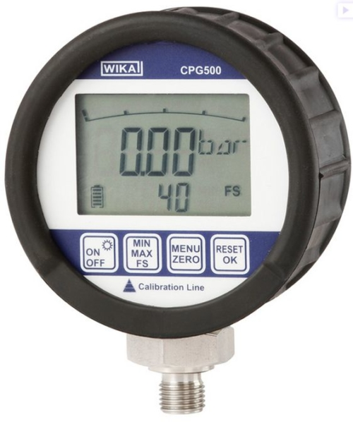 ATC Mesures - Calibration - Calibrateur de pression - CPG500 - Wika Cal