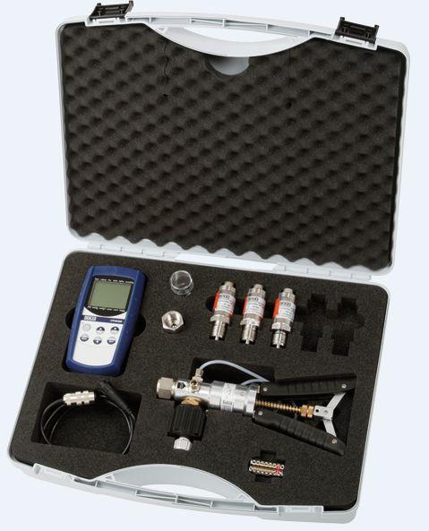 ATC Mesures - Calibration - Calibrateur de pression - Valise de test complètes - Wika Cal