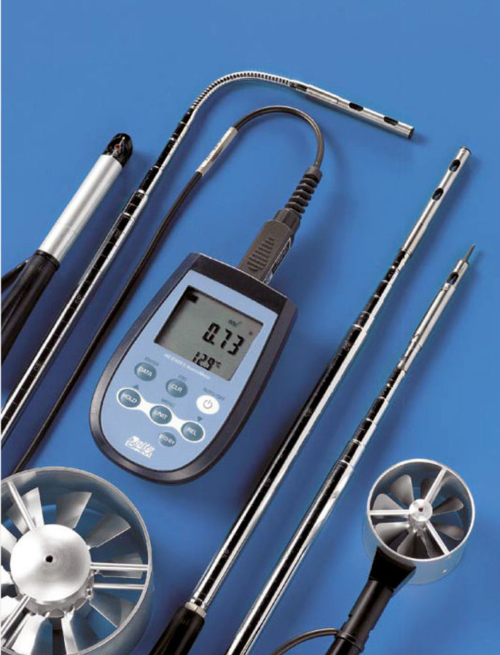 ATC Mesures - Instruments portatifs - Anémomètre vitesse d'air - HD2303 - Delta Ohm