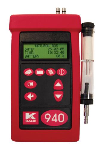 ATC Mesures - Instruments portatifs - Analyseur de combustion - KANE940plus - Kane