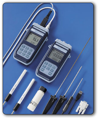ATC Mesures - Instruments portatifs - Thermomètre industriel - HD2178 - Delta Ohm