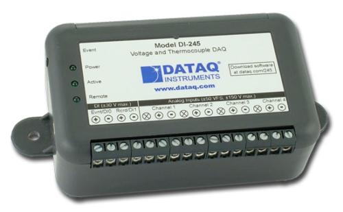 ATC Mesures - Acquisition de données - Enregistreur de données portable - DI-245 - Dataq