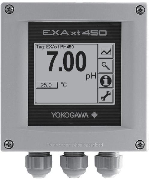 ATC Mesures - Capteurs et transmetteurs - Analyse (pH-Conductivité-O2) - PH450G - Yokogawa