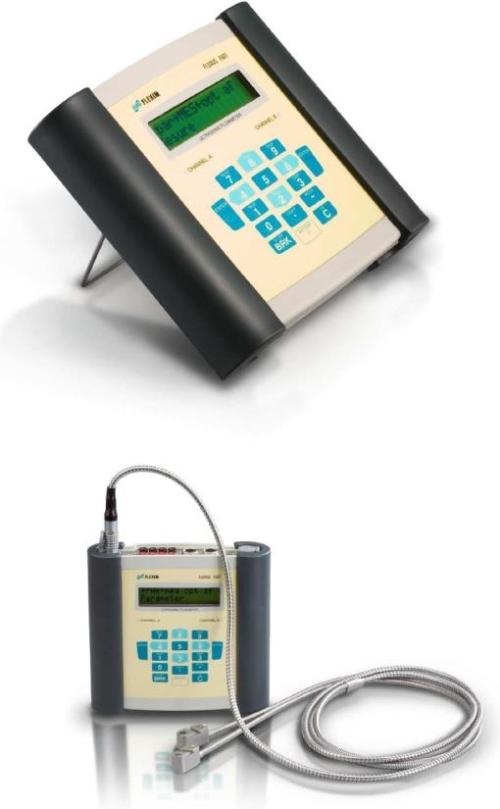 ATC Mesures - Capteurs et transmetteurs - Débit - F601 - Flexim - 2