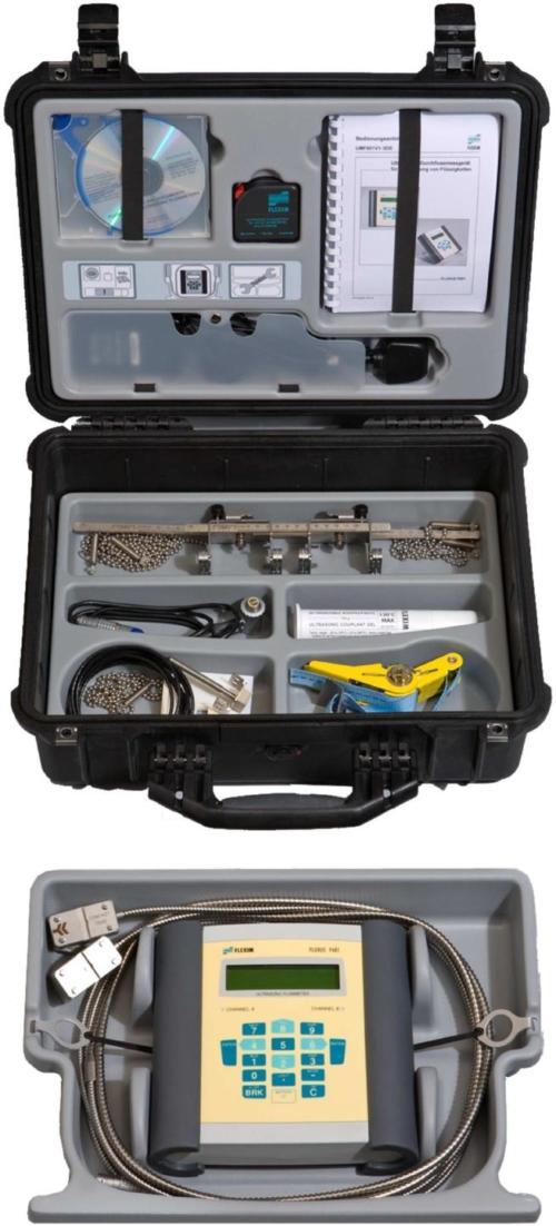 ATC Mesures - Capteurs et transmetteurs - Débit - F601 - Flexim - 3